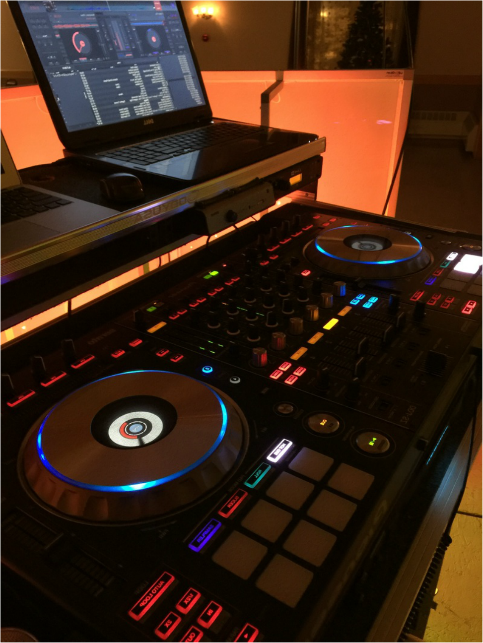 Professional DJ Services Equipment
